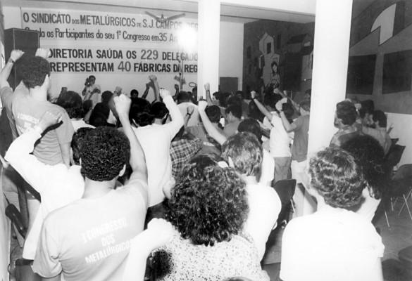 1º Congresso dos Metalúrgicos, em 1991