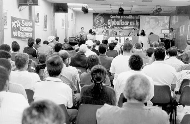 6º Congresso do Metalúrgicos, em 2001