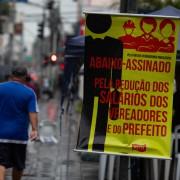 Campanha exige redução de salários dos políticos em São José