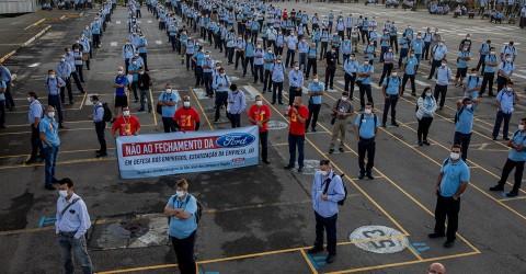 Trabalhadores da GM votam apoio aos metalúrgicos da Ford