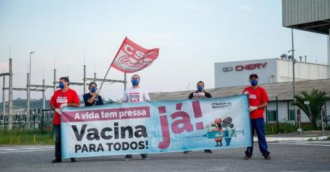 Dia Nacional de Luta tem atividades em 15 fábricas da região