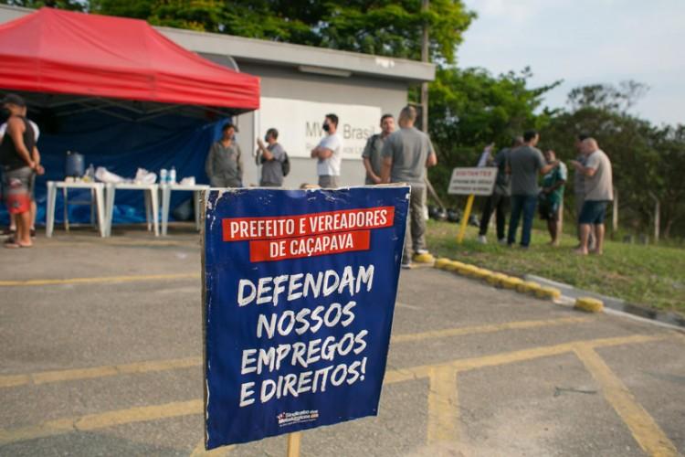 Trabalhadores da MWL estão em greve desde o 21 contra ordem de despejo