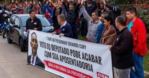 Dia de protestos contra a Reforma da Previdência