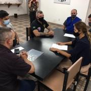 Reunião entre a secretária Patricia Ellen e dirigentes do Sindicato dos Metalúrgicos