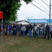 Trabalhadores e dirigentes sindicais permanecerão em frente à fábrica diariamente