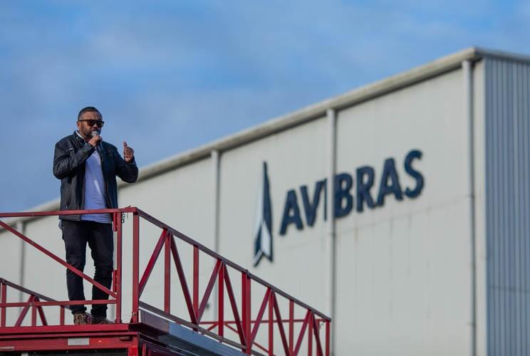 Dirigente sindical na Avibras