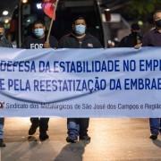 Protesto na Av. Faria Lima
