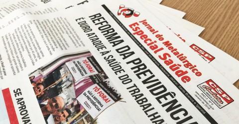 Jornal da Saúde denuncia ataque à Previdência do trabalhador