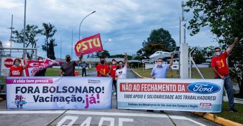 No Dia Nacional de Lutas, Sindicato exige: fora, Bolsonaro e Mourão!