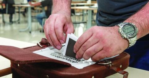 Roteiro das urnas