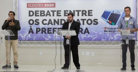 Confira o debate entre os candidatos à Prefeitura de Jacareí