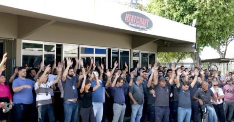 Trabalhadores da Elgin Heatcraft aprovam R$ 7.500 de PLR