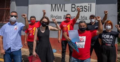 Ação do Sindicato leva à reintegração de ativista da MWL
