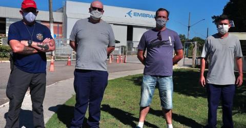 Sindicato garante reintegração de trabalhador na Embraer