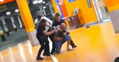 Homem negro é espancado até a morte em supermercado