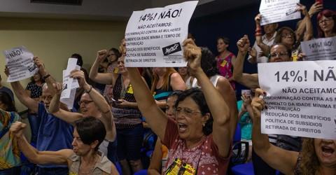 Câmara aprova reforma que ataca aposentadoria dos servidores de São José