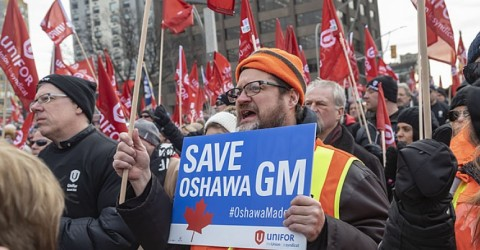 Why We Occupied Our General Motors Factory in Oshawa, Canada