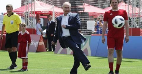 Na Rússia, presidente também tenta impor reforma da Previdência
