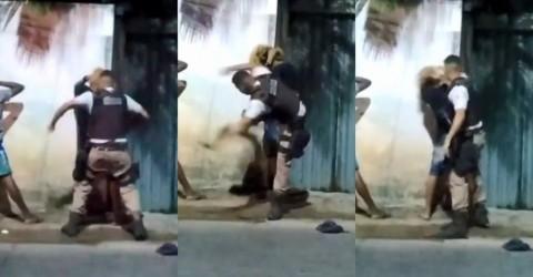 Vídeo exibe violência policial em estado governado pelo PT