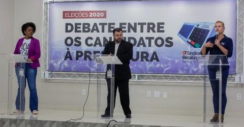 Confira o debate entre os candidatos à Prefeitura de São José dos Campos