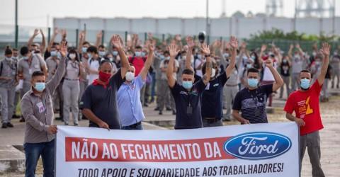 Luta contra fechamento da Ford ganha apoio dos metalúrgicos da Chery