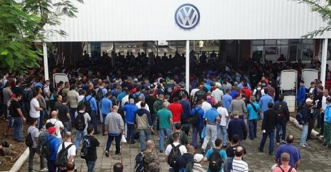 Volkswagen planeja demitir 5 mil trabalhadores no Brasil