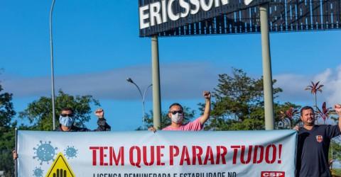 Ericsson é derrotada na Justiça em tentativa de impedir mobilizações