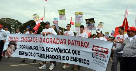 Marcha em Brasília faz chamado à luta e à unidade