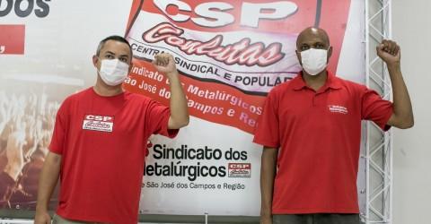 Com 95% dos votos, metalúrgicos reelegem CSP-Conlutas para direção do Sindicato