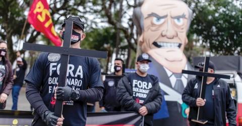 Nesta quarta, 24, vamos exigir vacina para todos e saída de Bolsonaro