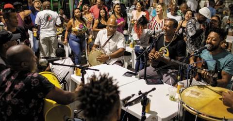 Samba Democrático acontece no próximo sábado com Grupo Desejo