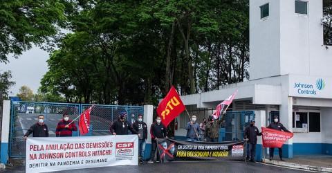 Sindicato mantém mobilização para cancelar demissões na JC Hitachi