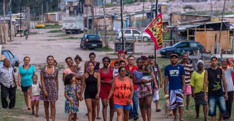 Passeata de moradores da ocupação Coração Valente é adiada para sexta-feira