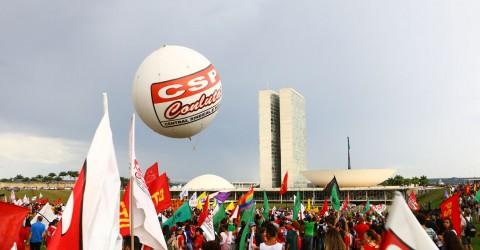Mil manifestantes da região vão a Brasília lutar contra reformas