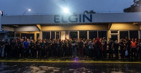 Greve na Elgin é suspensa e luta em defesa do emprego continua