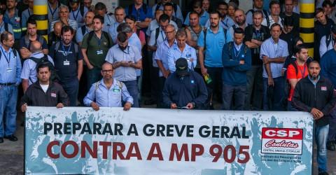 Centrais sindicais iniciam nesta terça Jornada de Lutas por Empregos e Direitos