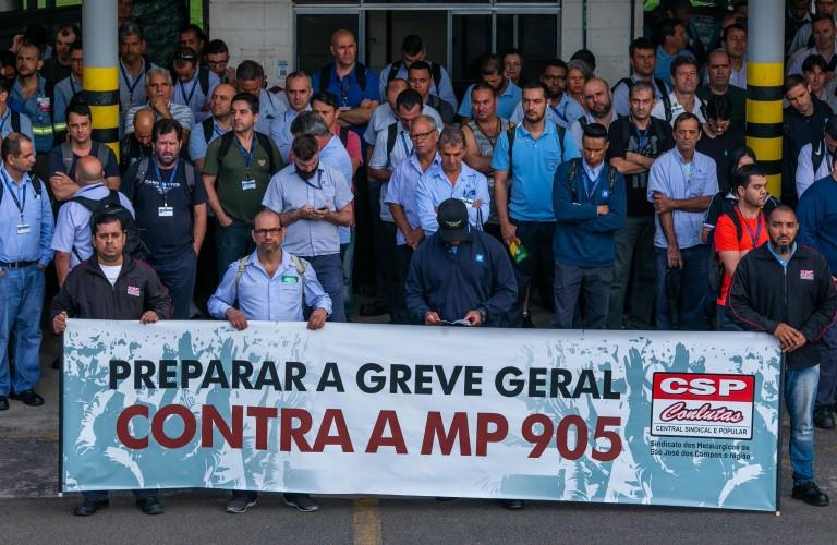Dia Nacional de Mobilizações, na GM