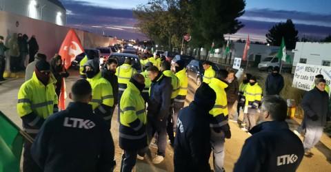 Todo apoio à luta dos trabalhadores terceiros da Alestis na Espanha