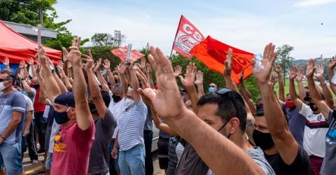 Trabalhadores da MWL aprovam greve por mais 30 dias e luta por criação de cooperativa