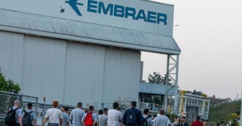 Com aumento de casos de covid-19, Sindicato exige licença remunerada na Embraer