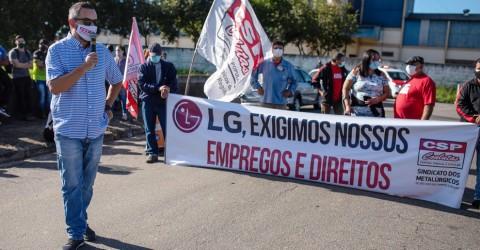 Pela estatização da LG e suas parceiras sob controle dos trabalhadores