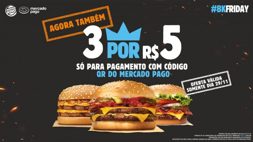 Anúncio de gigante do ramo de fast food