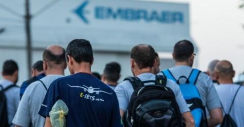 Embraer registra mais um caso de covid-19 entre os trabalhadores da Faria Lima