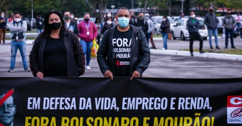 Com mobilizações em fábricas, metalúrgicos exigem: Fora Bolsonaro e Mourão!