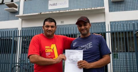 Sindicato garante reintegração de trabalhador da Holld Meyer