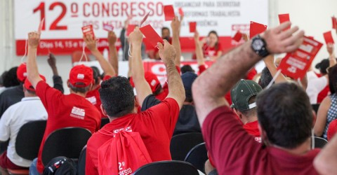 Congresso dos Metalúrgicos será de 24 a 26 de abril