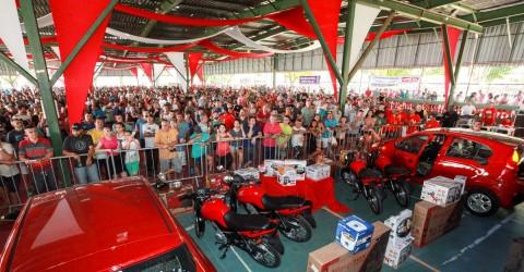 Festival de fim de ano leva 6 mil pessoas ao Luso
