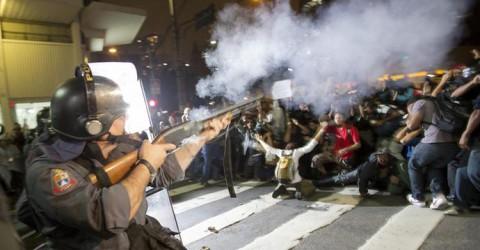 Governo Alckmin é condenado por violência policial em manifestações de 2013