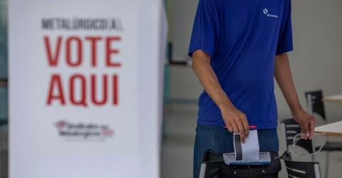 Confira o resultado da eleição da nova diretoria do Sindicato em cada fábrica