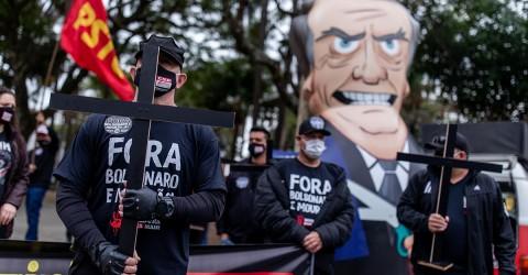 Dia Nacional de Luto e de Luta exige Fora Bolsonaro e Mourão